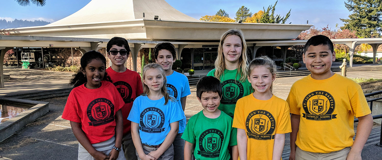 Preschool, Elementary School & Middle School | St. John the Baptist Catholic School in Portland, Oregon