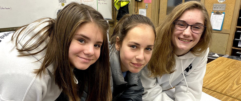 Middle School Students at St. John the Baptist Catholic School | Private School in SE Portland, Oregon